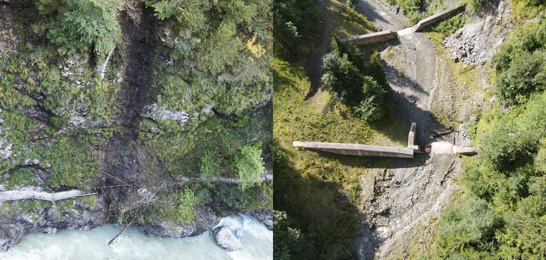 2-Bilder-Abschluss-Montage